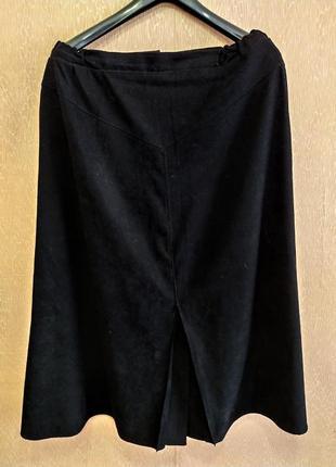 Черная юбочка большого размера