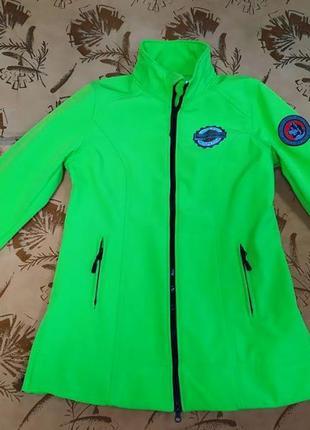Фирменная женская softshell куртка bonprix,оригинал, размер 38