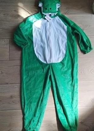 Карнавальный костюм, ромпер крокодил