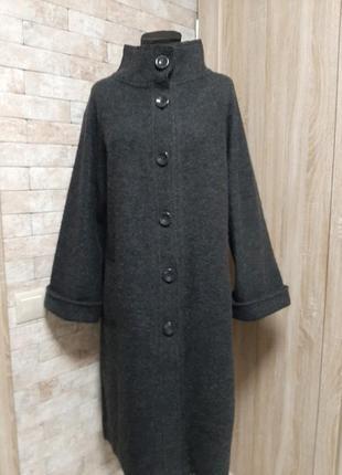 Пальто из  валяной шерсти viyella англия
