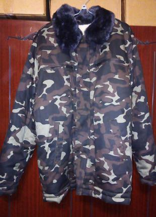 Мужская утепленная куртка на меху