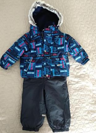 Зимний комплект для мальчика lenne 86+6