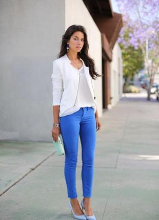 Акция🌹синие джинсовые скини, р 42 (s)