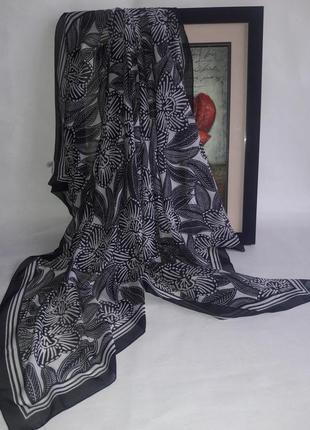 Шифонновый платок палантин