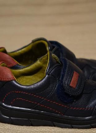 Хорошенькие кожаные темно-синие полуботинки start-rite англия 5 1/2 р.