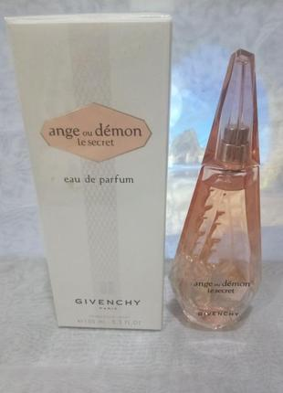 Givenchy ange ou demon le secret женская парфюмированная вода 100мл