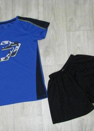 Форма футбольная рост 158-164 см спортивная 13-15 лет футболка шорты