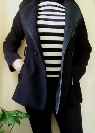 Кашемировое короткое пальто