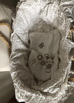 Постелька для соломенной люльки mothercare