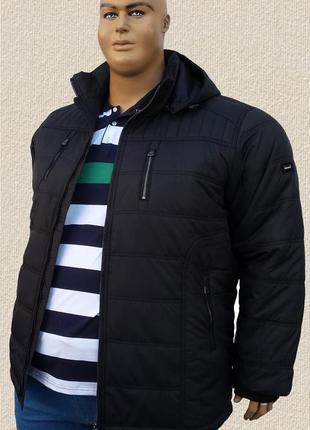 Большого размера зимняя мужская куртка ramon miele