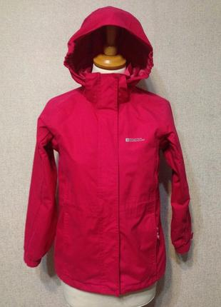 Куртка-ветровка на мембране mountain warehouse,очень теплая,9-11лет