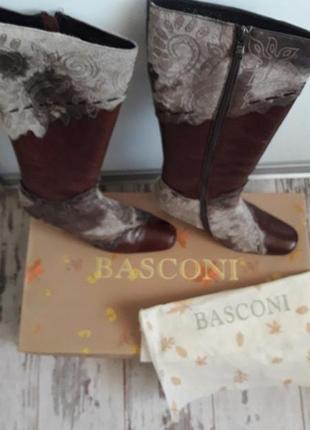 Зимние сапоги basconi италия