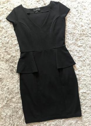 Плаття з баскою. рр м