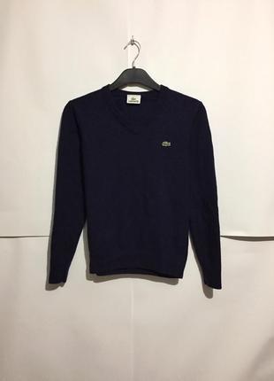 Шерстяной свитер lacoste
