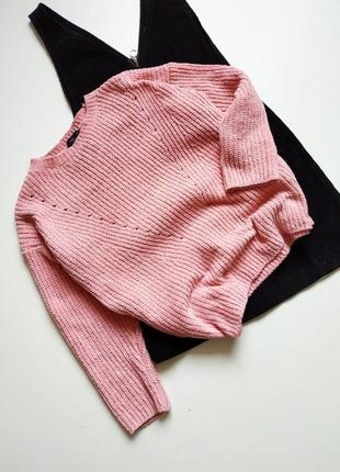 Мягкий велюровый свитер от f&f