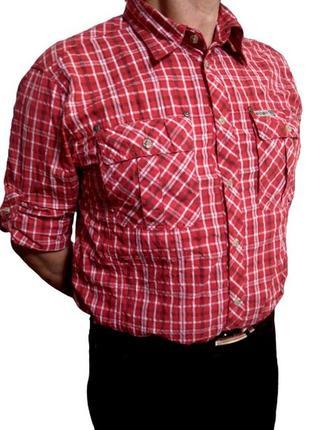 Оригинал рубашка в клетку mckinley