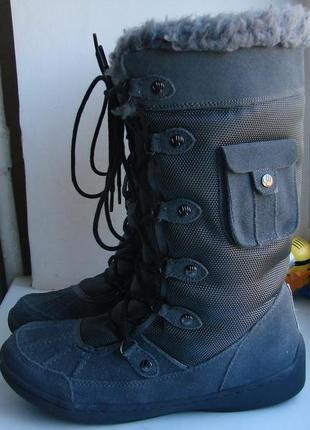 Зимние ботинки сноубутсы bearpaw  - 38 р.