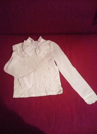 Блузка нарядная школьная