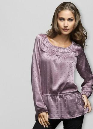 Нарядная шелковая блуза от tchibo