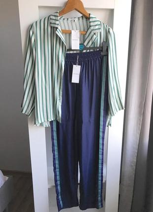 Сатиновая пижама oysho s