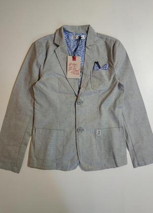 Пиджак из хлопковой ткани