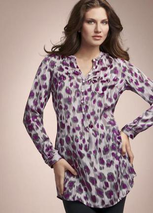 Блуза-туника с леопардовым принтом от tchibo
