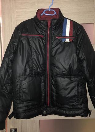 Продам мужскую куртку madoc jeans  зима оригинал. р m идёт на l (50)