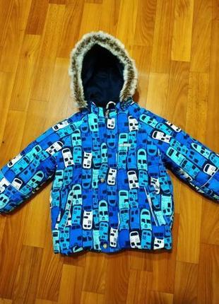 Зимний комплект куртка+ полукомбинезон lenne