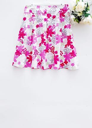 Летняя красивая юбка миди юбка солнце клёш хлопок