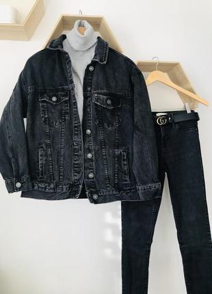 Костюм джинсовая куртка с джинсами bershka zara reserved