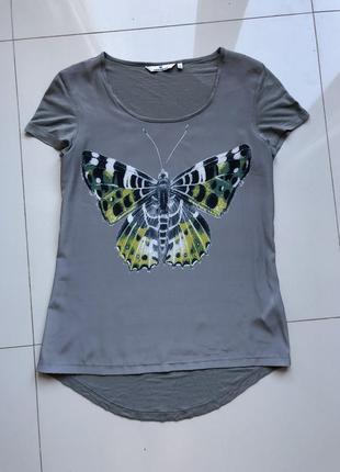 Удлинённая футболка туника