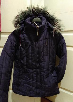 Курточка на синтепоне и утеплитель флисовый