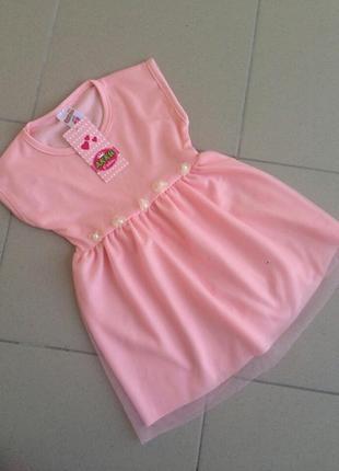 Платье с легким фатином akku fashion