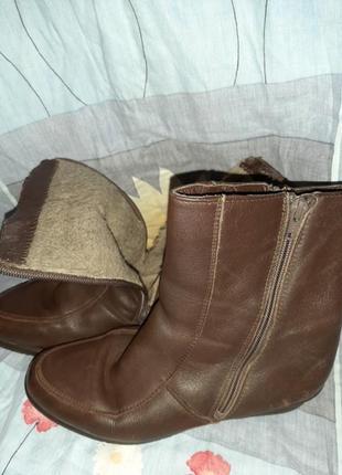 Кожаные ботинки, сапожки, полусапожки франция