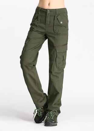 Супер! карго-брюки, цвета хаки