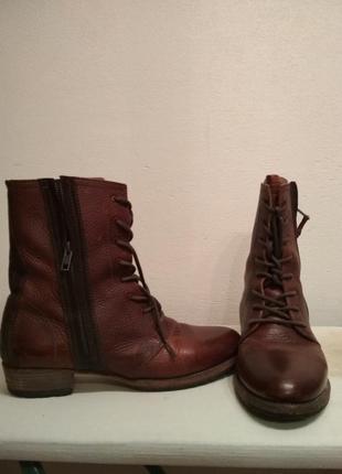 Ботинки blackstone, кожа, демисезонные