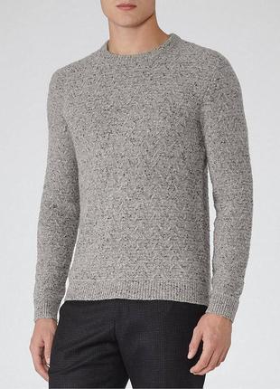 Светр\джемпер reiss montague textured fleck jumper