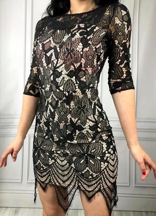 Сукня parisian, комбінація мережева