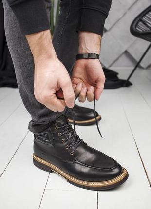 😊ugg neumel🤗 мужские зимние кожаные ботинки угги