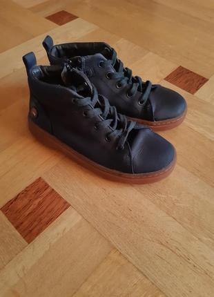 Детские ботинки camper/дитячі шкіряні черевички