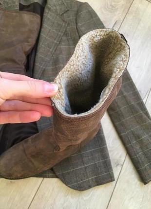Кожаные сапоги belissimo( ботинки) италия