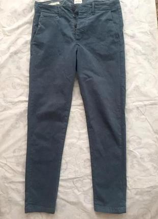 Осенние casual узкие штаны