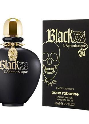 Пробник духов paco rabanne black xs l'aphrodisiaque for women