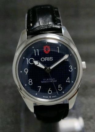 Мужские механические винтажные часы oris швейцарские 80s bw 38 мм
