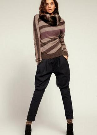 Стильные шикарные брюки в клетку-бренд---12р №83             vangeliza