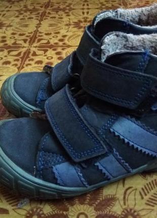 Демисезонные/зимние ботинки tsm для мальчика