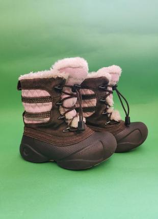 Детские зимние ботинки сolumbia