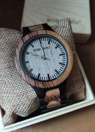 Мужские деревянные наручные часы bibo bird