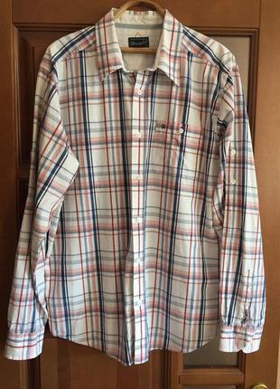"""Классная мужская рубашка """"wrangler """"."""
