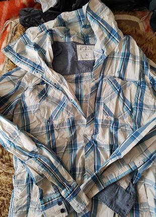 Рубашка с длинным воротом